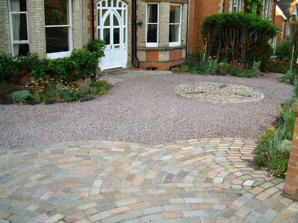beautiful driveway for edwardian property