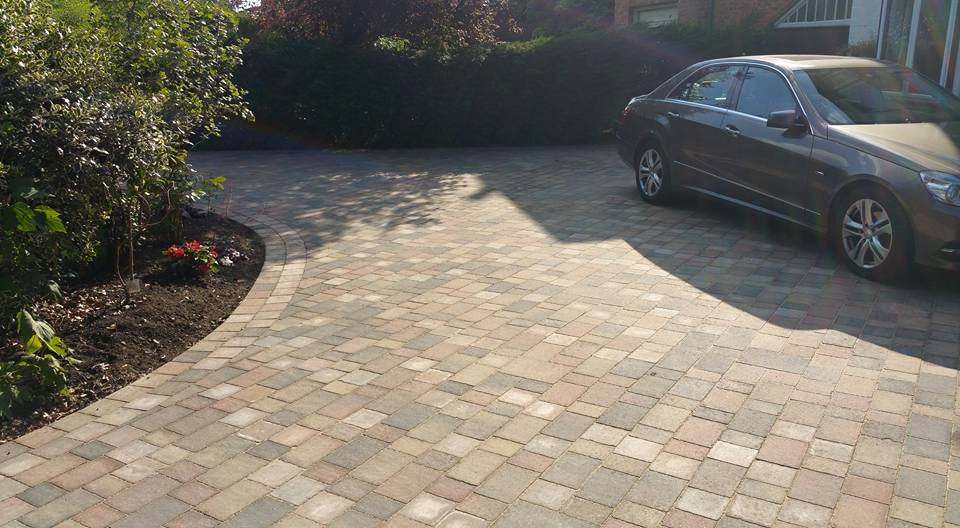 stylish driveway to welcome your guests