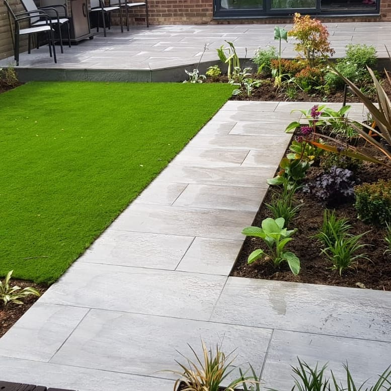 patios and paths are the workhorses of the garden