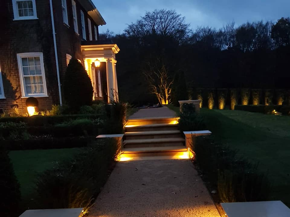 don't forget to include lighting when you redesign your garden