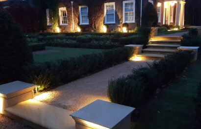high value home with landscaped gardens