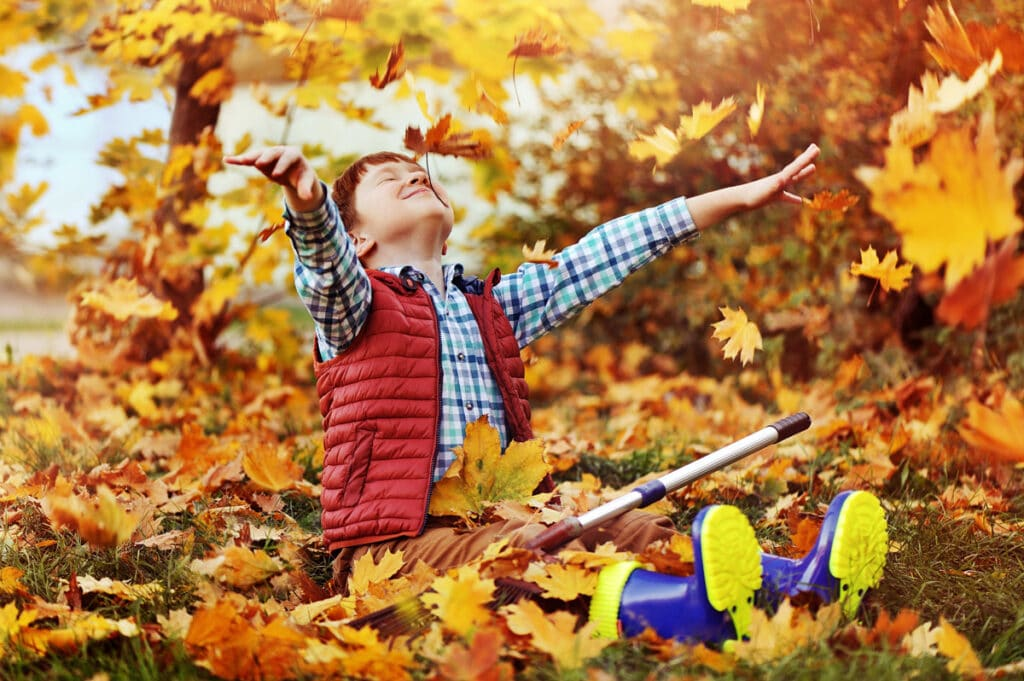 release your inner child and enjoy autumn in your garden