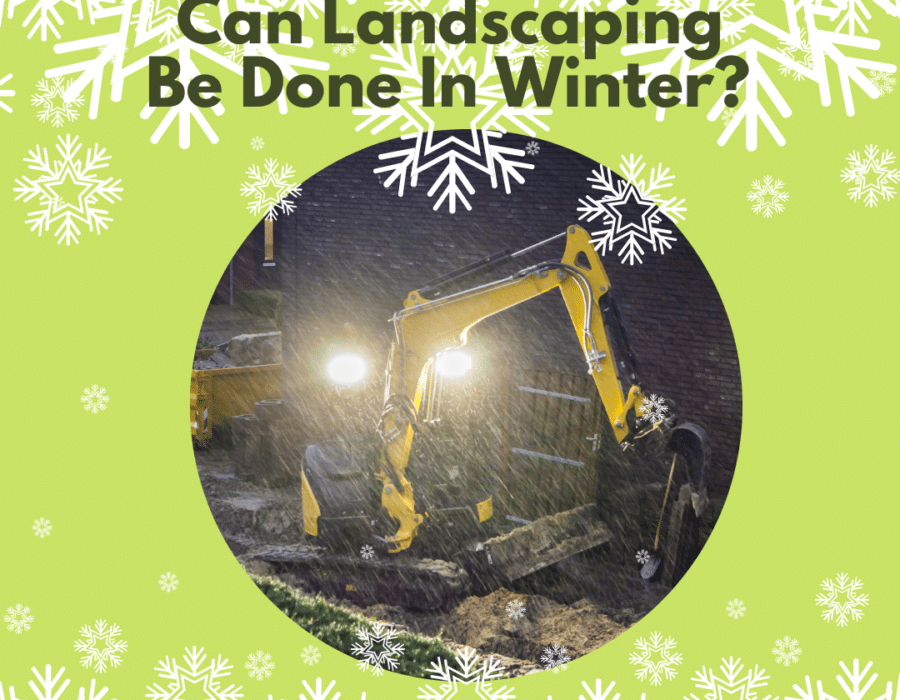 can landscaping be done in winter - blog header image